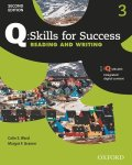 Q Skills for Success 2nd Edition Reading & Writing  level 3 Student Book with IQ online
