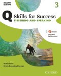 Q Skills for Success 2nd Edition Listening & Speaking level3 Student Book with IQ online