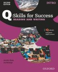 Q Skills for Success 2nd Edition Reading & Writing  level Intro Student Book with IQ online