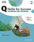 Q Skills for Success 2nd Edition Listening & Speaking level 2 Student Book with IQ online