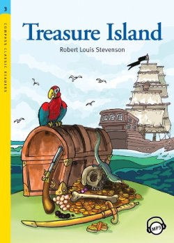 画像1: 【Compass Classic Readers】Level 3: Treasure Island with MP3 CD