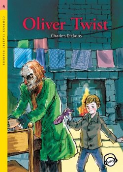 画像1: 【Compass Classic Readers】Level 4: Oliver Twist with MP3 CD