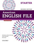 American English File 2nd Edition Level Starter Student Book w/Oxford Online Skills