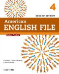 American English File 2nd Edition Level 4 Student Book w/Oxford Online Skills