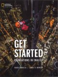 Get Started Foundations in English Student Book with MP3 CD