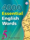 4000 Essential English Words 5 Student Book with Answerkey