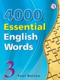4000 Essential English Words 3 Student Book with Answerkey