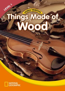 画像1: WW Level 1-Social Studies: Things made of Wood