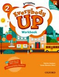 画像1: Everybody Up 2nd Edition Level 2 Workbook with Online Practice
