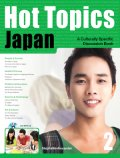 Hot Topics Japan 2 Student Book with MP3 CD