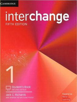 画像1: interchange 5th edition 1 Student Book with online self study