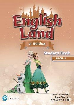 画像1: English Land 2nd Edition Level 4 Student Book with CDs