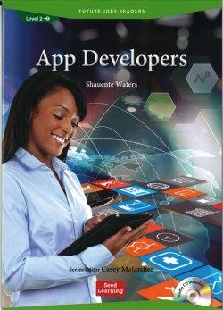 画像1: Future Jobs Reader Level 2: App Developers/アプリケーション開発者Audio CD付