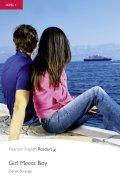 【Pearson English Readers】Level 1:Girl Meets Boy Book