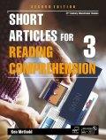 Short Articles for Reading Comprehension 3 Student Book 2nd edition