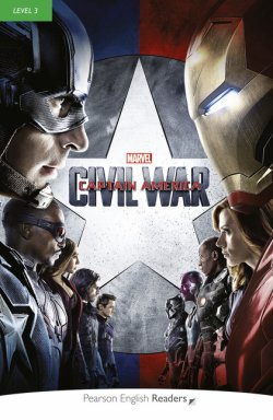 画像1: 【MARVEL(Pearson English Readers)】Level 3: Marvel's Captain America:Civil War