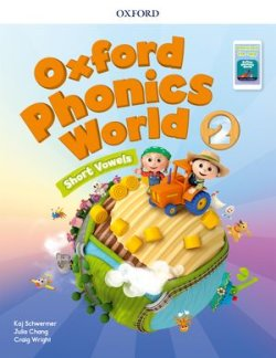 画像1: Oxford Phonics World 2 Short Vowels Student Book with APP