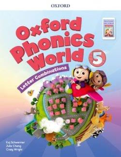 画像1: Oxford Phonics World 5 Letter Combinations Student Book with APP