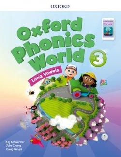 画像1: Oxford Phonics World 3 Long Vowels Student Book with Multi ROM