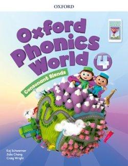 画像1: Oxford Phonics World 4 Consonant Blends Student Book with APP