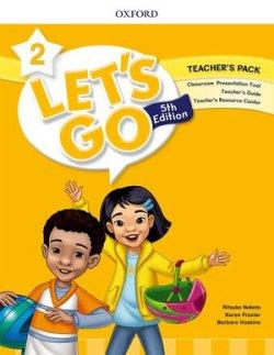 画像1: Let's Go 5th Edition Level 2  Teacher's Pack