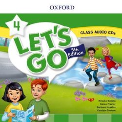 画像1: Let's Go 5th Edition Level 4 Class Audio CDs