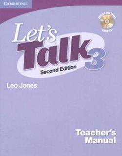 画像1: Let's Talk 2nd edition level 3 Teacher's Manual with Audio CD