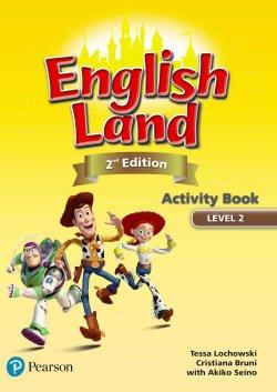 画像1: English Land 2nd Edition Level 2 Activitybook