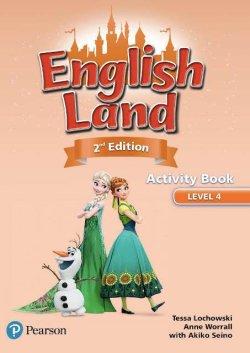 画像1: English Land 2nd Edition Level 4 Activitybook