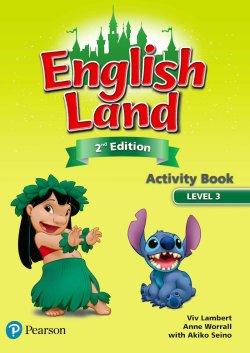 画像1: English Land 2nd Edition Level 3 Activitybook