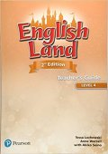 English Land 2nd Edition Level 4 Teacher's Book with DVD ROM