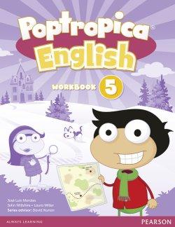 画像1: Poptropica English level 5  Workbook with CD