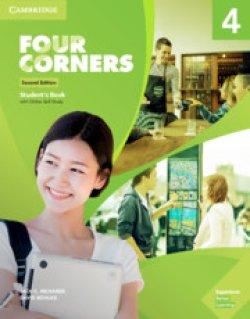 画像1: Four Corners 2nd Edition Level 4 Student Book with Online self-study