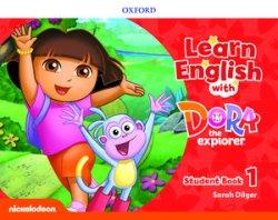 画像1: Learn English with Dora the Explorer level 1 Student Book