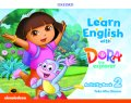 Learn English with Dora the Explorer level 2 Activity Book