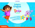Learn English with Dora the Explorer level 2 Phonics & Literacy Book