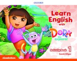 画像1: Learn English with Dora the Explorer level 1 Activity Book