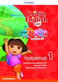 Learn English with Dora the Explorer level 1 Teacher's Pack