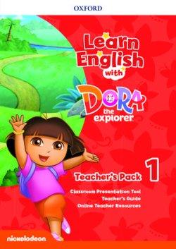 画像1: Learn English with Dora the Explorer level 1 Teacher's Pack