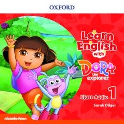 画像1: Learn English with Dora the Explorer level 1 Class Audio CDs(2)