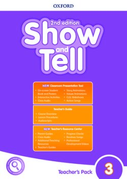 画像1: Show and Tell: 2nd Edition Level 3 Teacher's Book with Classroom Presentation Tool