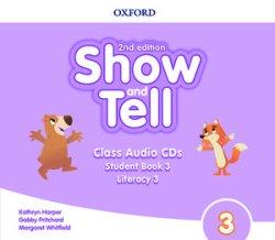 画像1: Show and Tell: 2nd Edition Level 3 Class Audio CDs