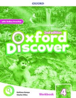 画像1: Oxford Discover 2nd Edition Level 4 Workbook with Online Practice Pack