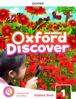 画像1: Oxford Discover 2nd Edition Level 1 Student Book with app