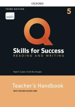 画像1: Q:Skills for Success 3rd Edition Reading and Writing Level 5 Teacher Guide with Teacher Resouce Access Code Card