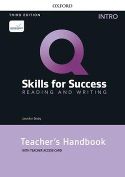 画像1: Q:Skills for Success 3rd Edition Reading and Writing Intro Teacher Guide with Teacher Resource Access Code Card