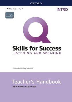 画像1: Q:Skills for Success 3rd Edition Listening and Speaking Intro Teacher Guide with Teacher Resource Access Code Card