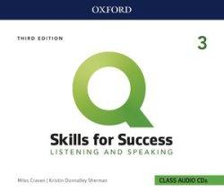 画像1: Q:Skills for Success 3rd Edition Listening and Speaking Level 3 Class Audio CDs