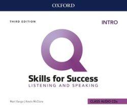 画像1: Q:Skills for Success 3rd Edition Listening and Speaking Intro Class Audio CDs