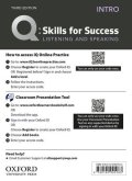 Q:Skills for Success 3rd Edition Listening and Speaking Intro Teacher Resource Access Code Card